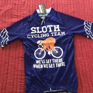 Tops - Sloth Cycling Team Medium Jersey